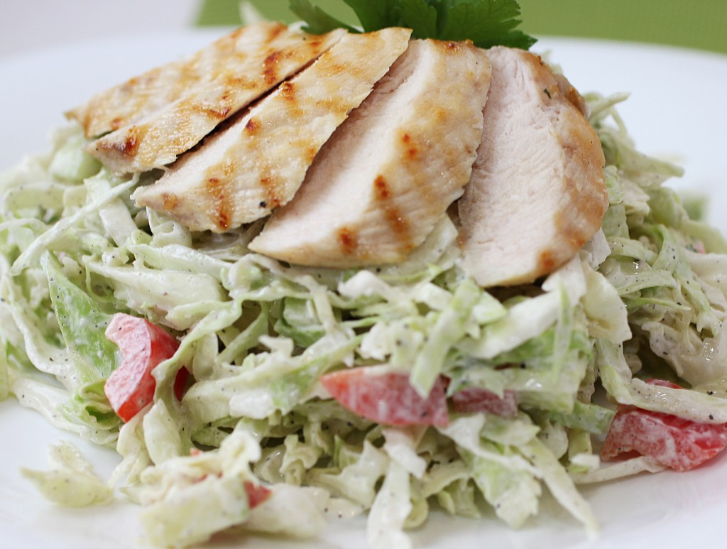 Summer Cabbage Slaw Salad