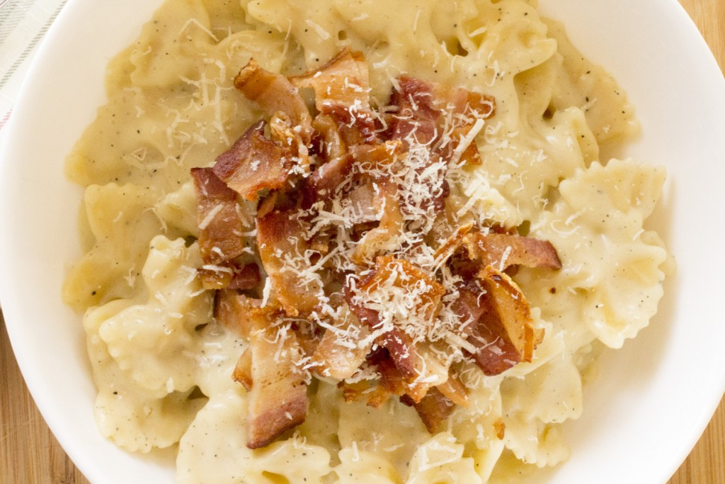 Creamy Stove Top Mac with Bacon