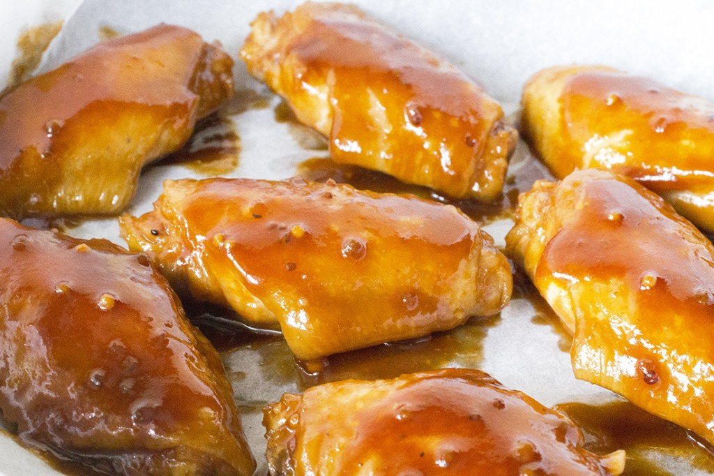 Slow Cooker Honey Chipotle Chicken Wings