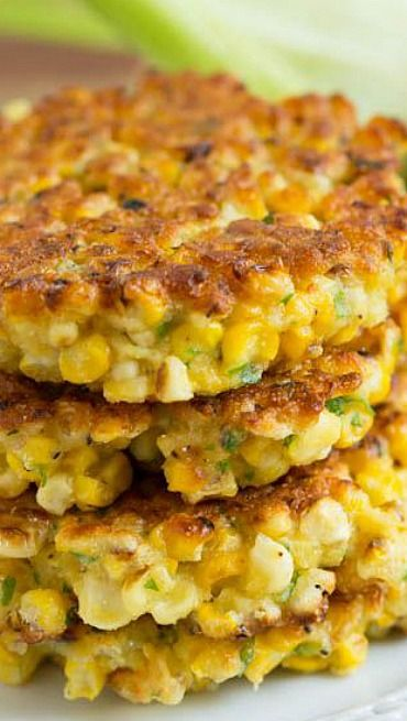 Grilled Corn Fritters • YumExpert